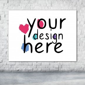 Custom Print Canvas 3:4 Horizontal