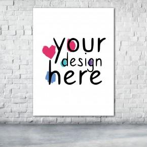 Custom Print Canvas 4:3 Vertical