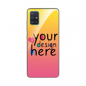 Customized Glass phone case for Samsung A51