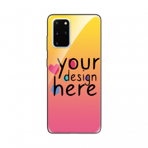 Customized Glass phone case for Samsung S20+