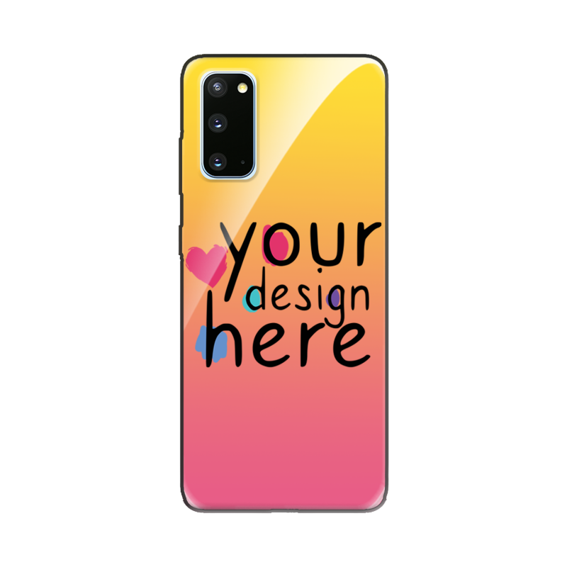 Customized Glass phone case for Samsung S20