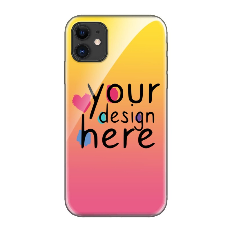 Customized Glass phone case for iPhone 11
