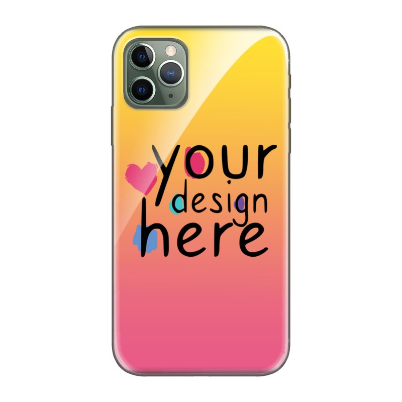 Customized Glass phone case for iPhone 11 Pro Max