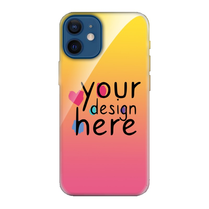 Customized Glass phone case for iPhone 12 Mini