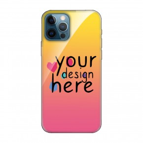 Customized Glass phone case for iPhone 12 Pro Max