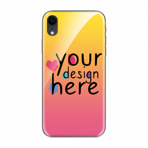 Customized Glass phone case for iPhone XR