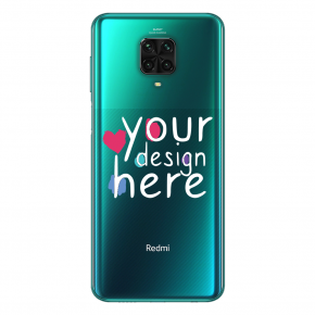 Customized Glass phone case for Xiaomi Note 10 Lite